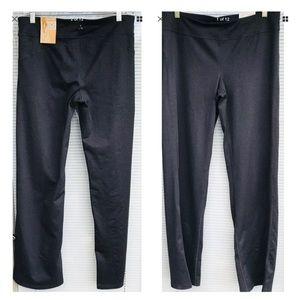 Aspire Leggings Pants Large Charcoal Gray New $38